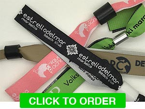 Custom Fabric Wristbands