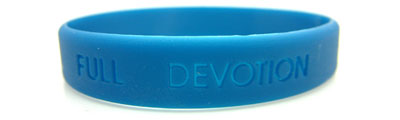 Buy Debossed Silicone Wristbands